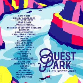 Coup d'envoi du Ouest Park Festival !