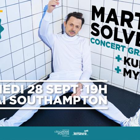 Kungs et MYD rejoignent Solveig pour son concert au Havre le 28 septembre