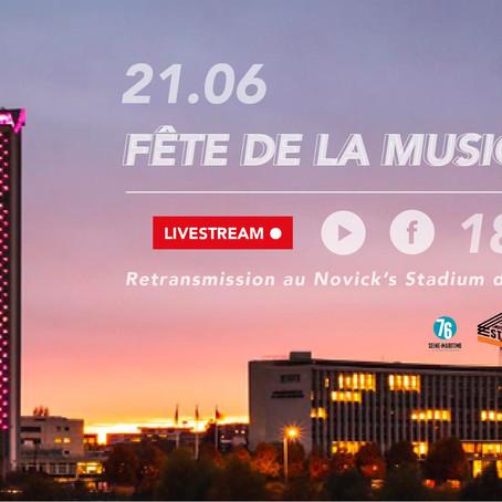 Fête de la musique : Un live depuis le toit du Département ce dimanche