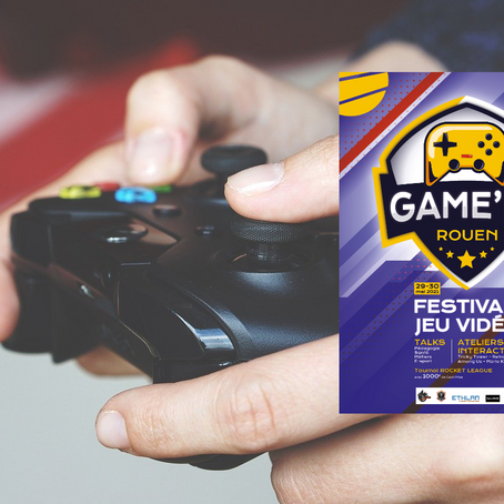 Game'In Rouen, premier festival du jeu vidéo au Kindarena