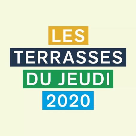 Les Terrasses du Jeudi 2020 annulées