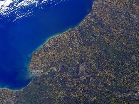 Thomas Pesquet dévoile une première photo de la Normandie depuis l'ISS