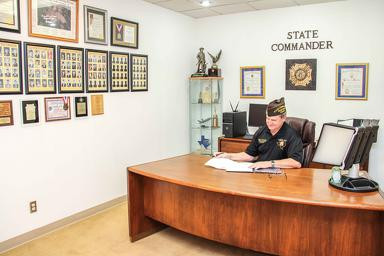 Texas VFW Department State Commander's Office Renovated