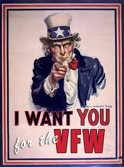 We want YOU to join the VFW!