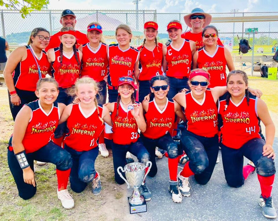 Youth Softball Team Sponsored by VFW Post 8790 Wins Third in FASA World Series!