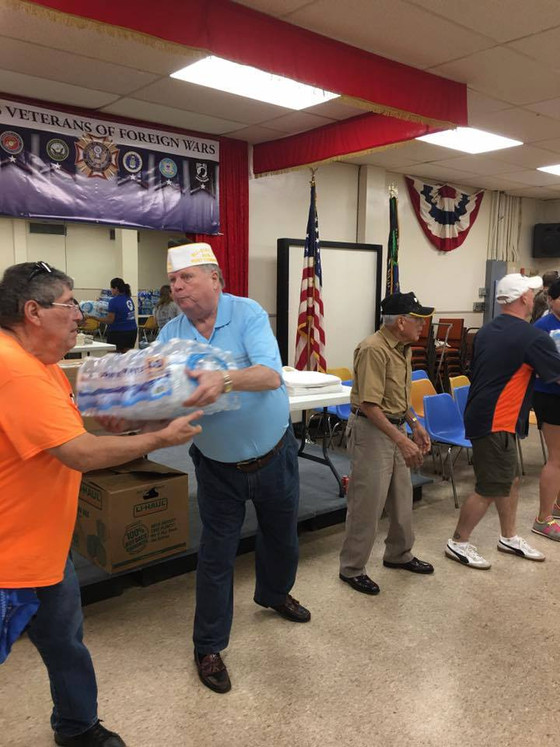 VFW Post 8790 leads Hurricane Harvey Relief Efforts