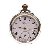 1906 J.W. Benson Pocket Watch Keyless Lever