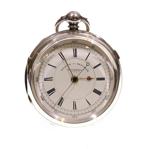 1890 Fusee Lever Chronograph Pocket Watch