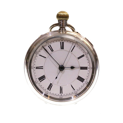 1902 Keyless LWC Chronograph Pocket Watch