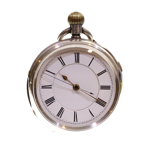 1894 Keyless Chronograph Pocket Watch 19 Jewels