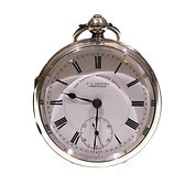1901 J.G. Graves Silver Lever Pocket Watch