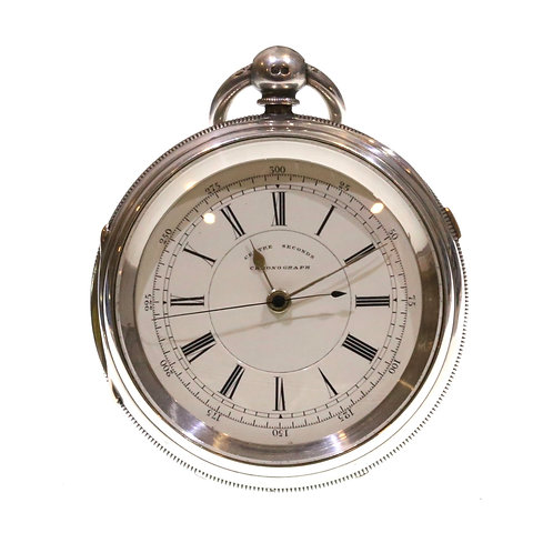 1897 Fusee Lever Chronograph Pocket Watch