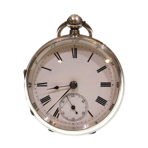 1894 Adam Burdess Open Face Pocket Watch