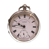 1902 J.G. Graves Silver Lever Pocket Watch