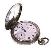 1907 Keyless Half Hunter Waltham Pocket Watch