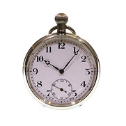 C1940 Open Face Keyless Pocket Watch