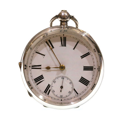1902 Pocket Watch Silver Going Barrel Lever