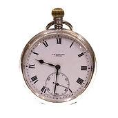 1929 J.W. Benson Pocket Watch Keyless Lever