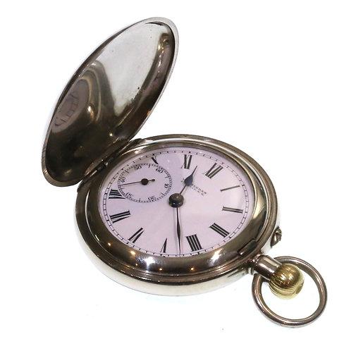 C1900 Keyless full Hunter Pocket Watch