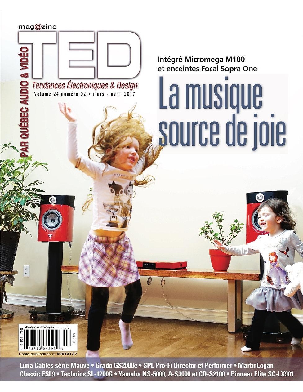 Câbles Luna Mauve TED Magazine