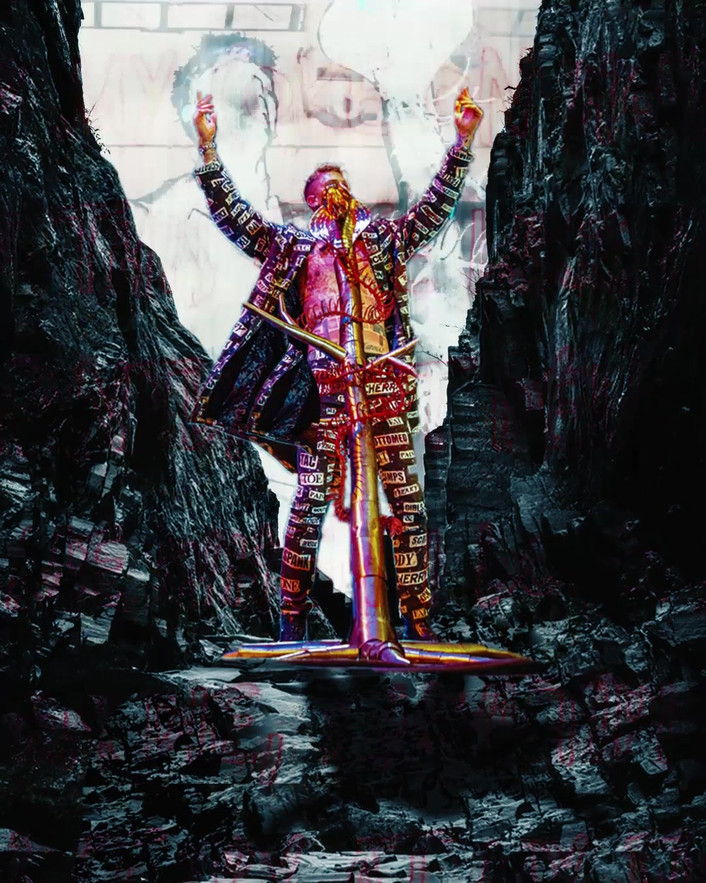 Machine Gun Kelly- Animated concert photos