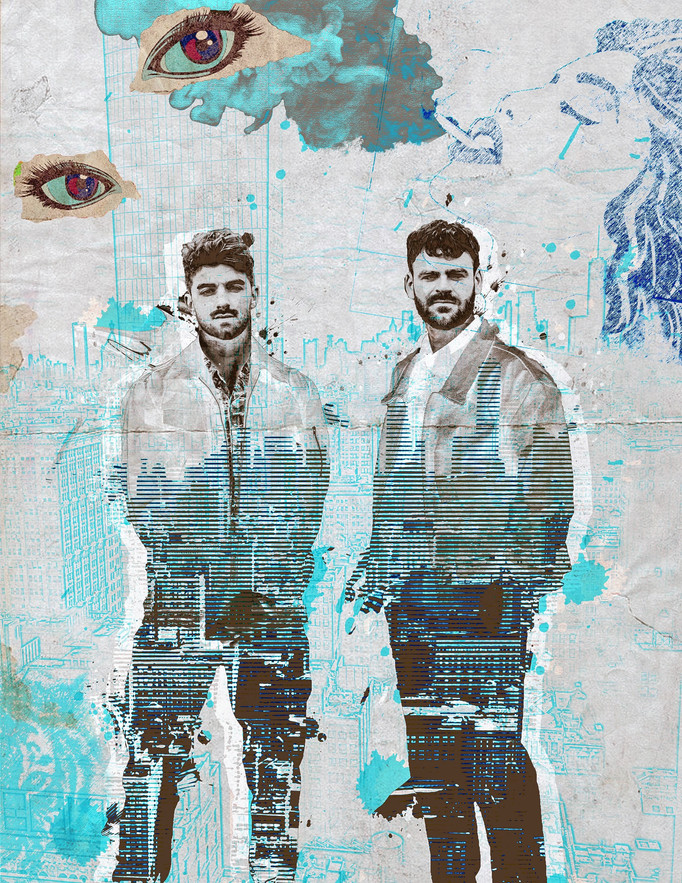 The Chainsmokers- Promotional Artwork