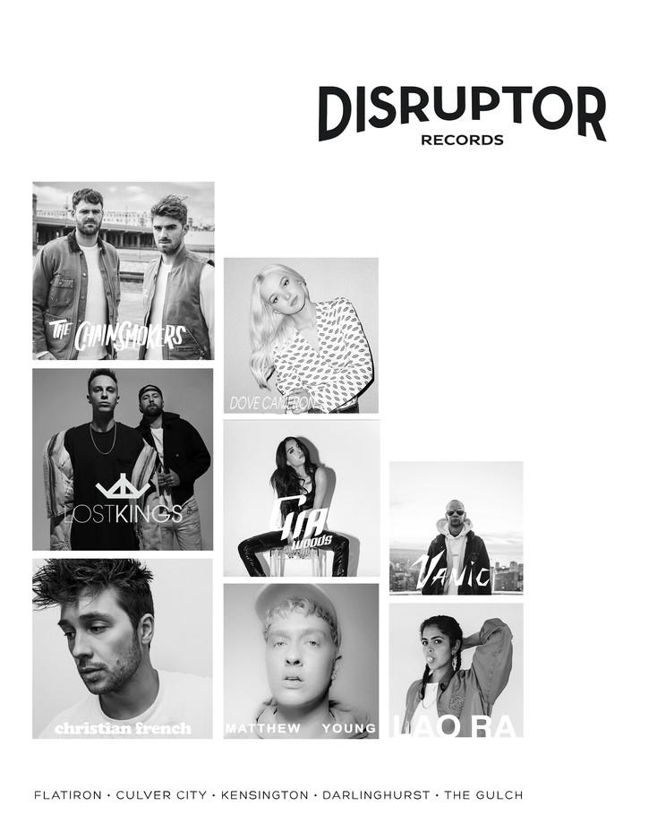 Disruptor Records Advertisement