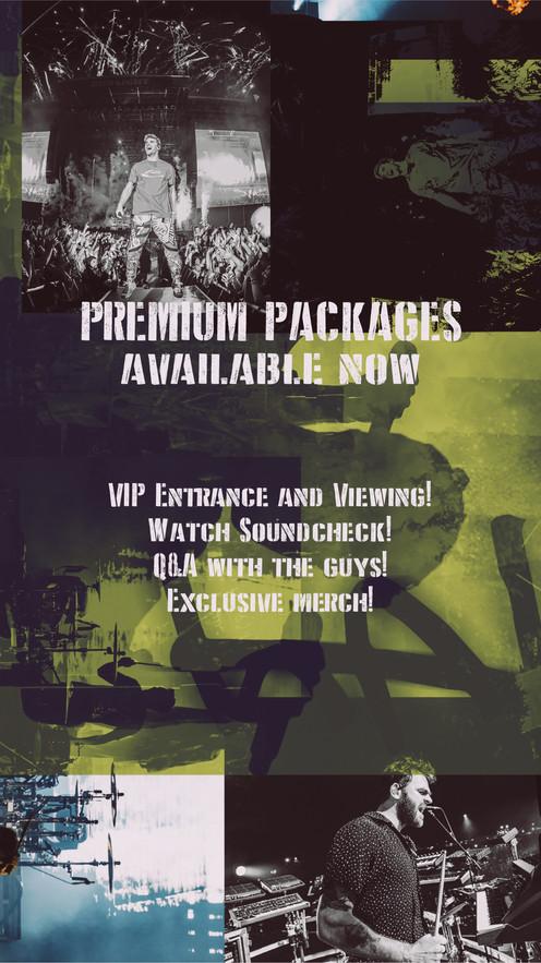 The Chainsmokers- World War Joy VIP Advertisement