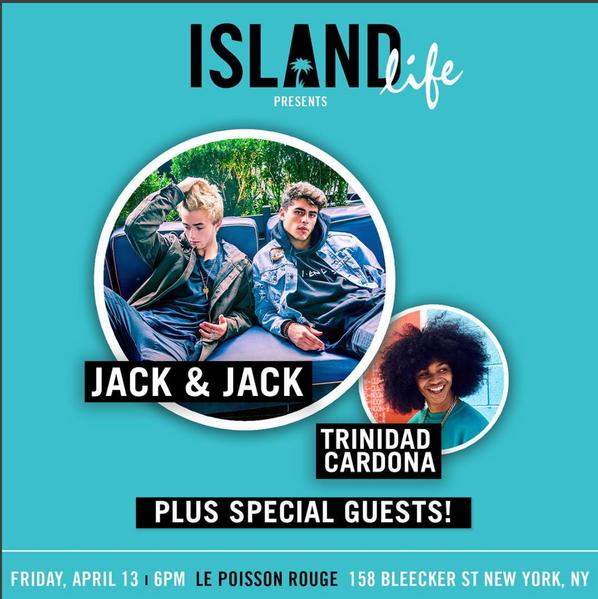 Jack & Jack Island Life promo