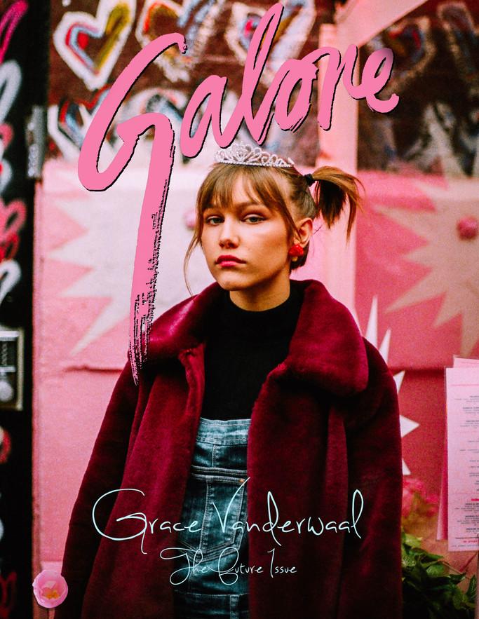Grace VanderWaal- Galore Magazine Cover