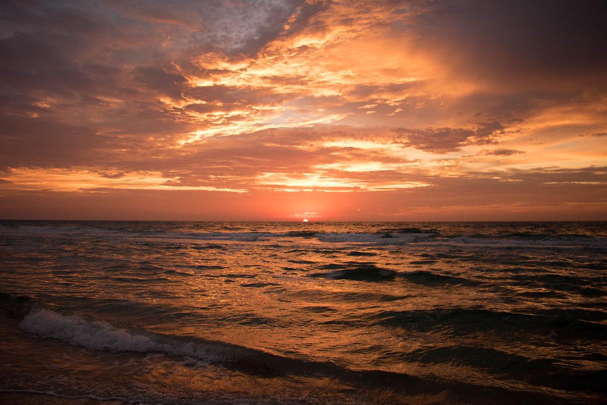 Sunset over SGI