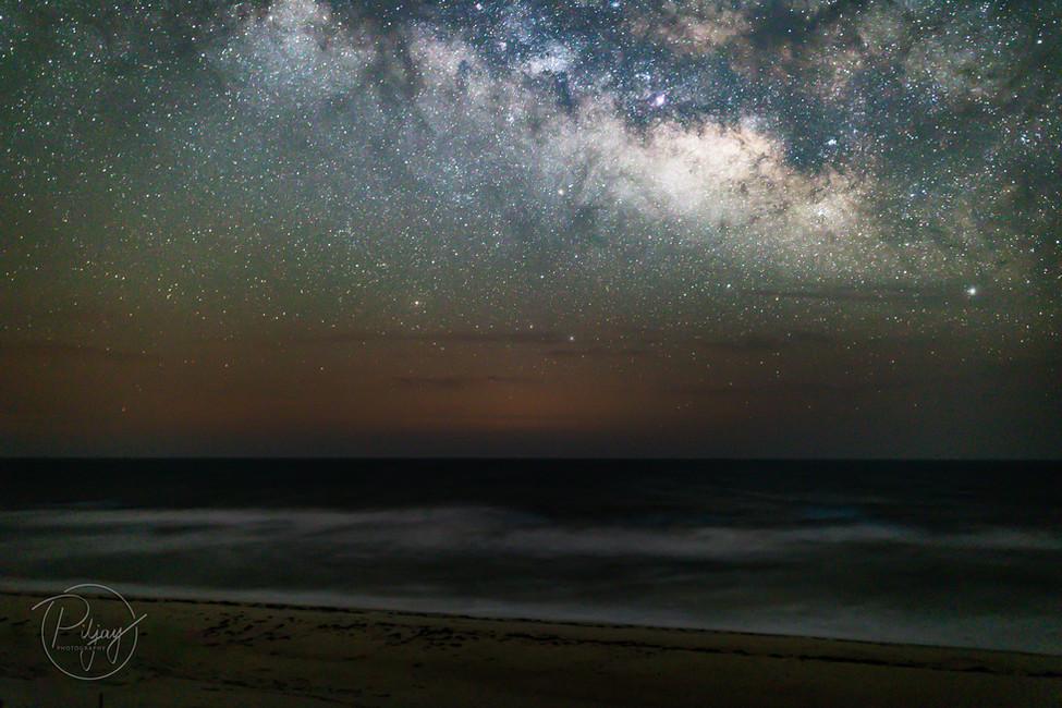 The Stars Over Sea Dunes
