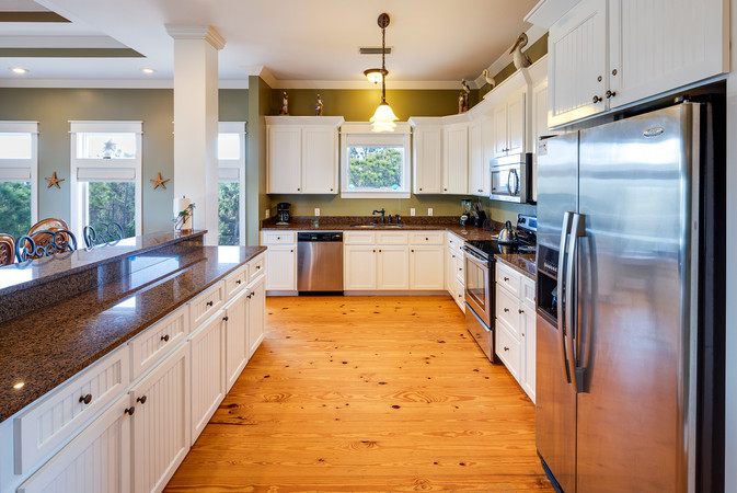 Sand Dollar has a beautiful and spacious kitchen