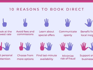 10 Reasons to #BookDirect Your Next Vacation Rental