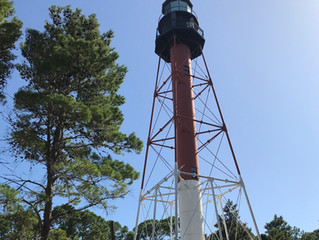 The Crooked River Lighthouse on the Highway 98 History Trail