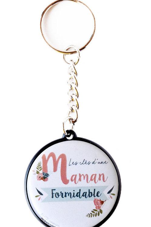 Porte clés Maman formidable