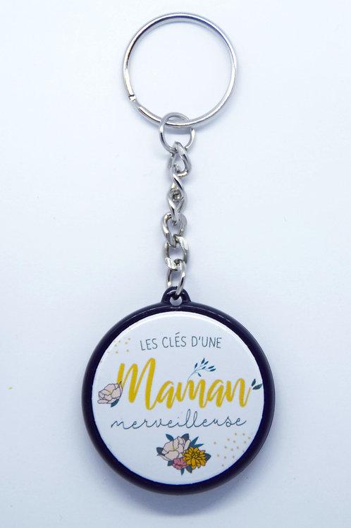 Porte clé Maman merveilleuse