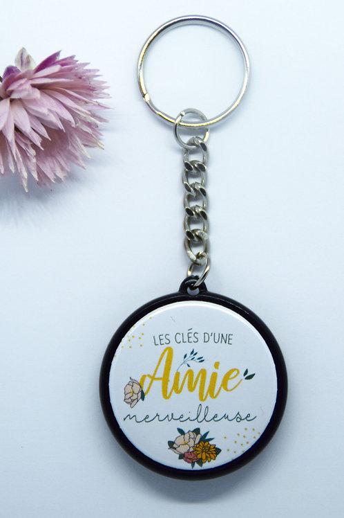 Porte clé Amie merveilleuse