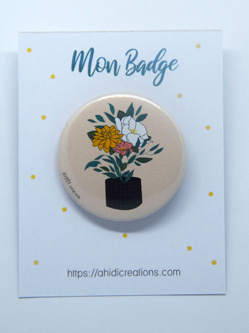 Badge Bouquet