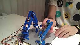 Brazo robot impesora 3d