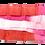 Thumbnail: Italy Ribbon -漸變色 (紅色, 粉紅色, 白色)