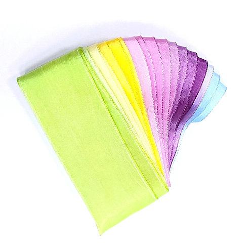 限量版 - 多色絲帶