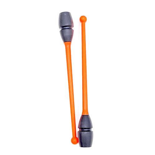 Italy Clubs (45cm) - Neon Orange Black