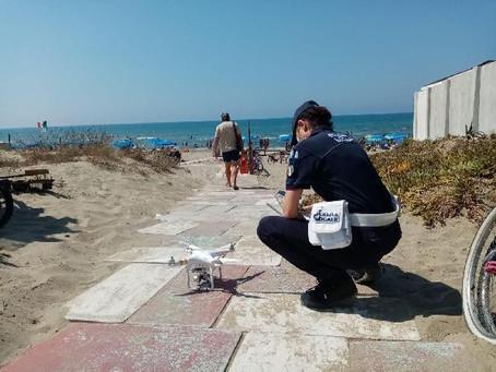 Controlli coi droni e multe in strada: Ferragosto all'insegna della sicurezza