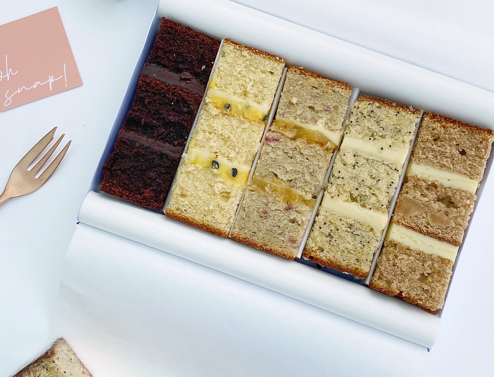 Cake Taster Box - 5 Flavours