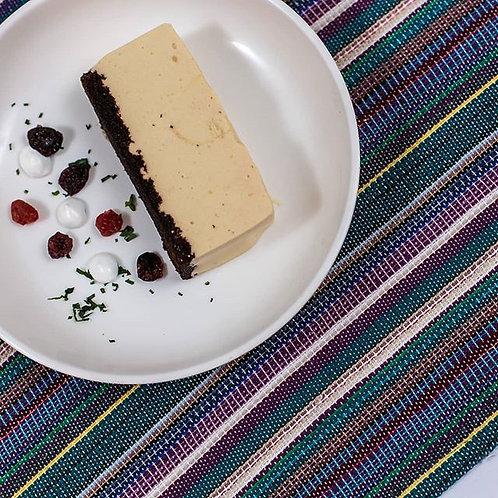 Cheesecake de lúcuma