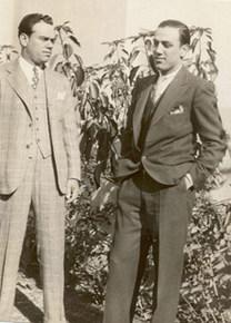 Frank Mennillo & son Arnold Mennillo