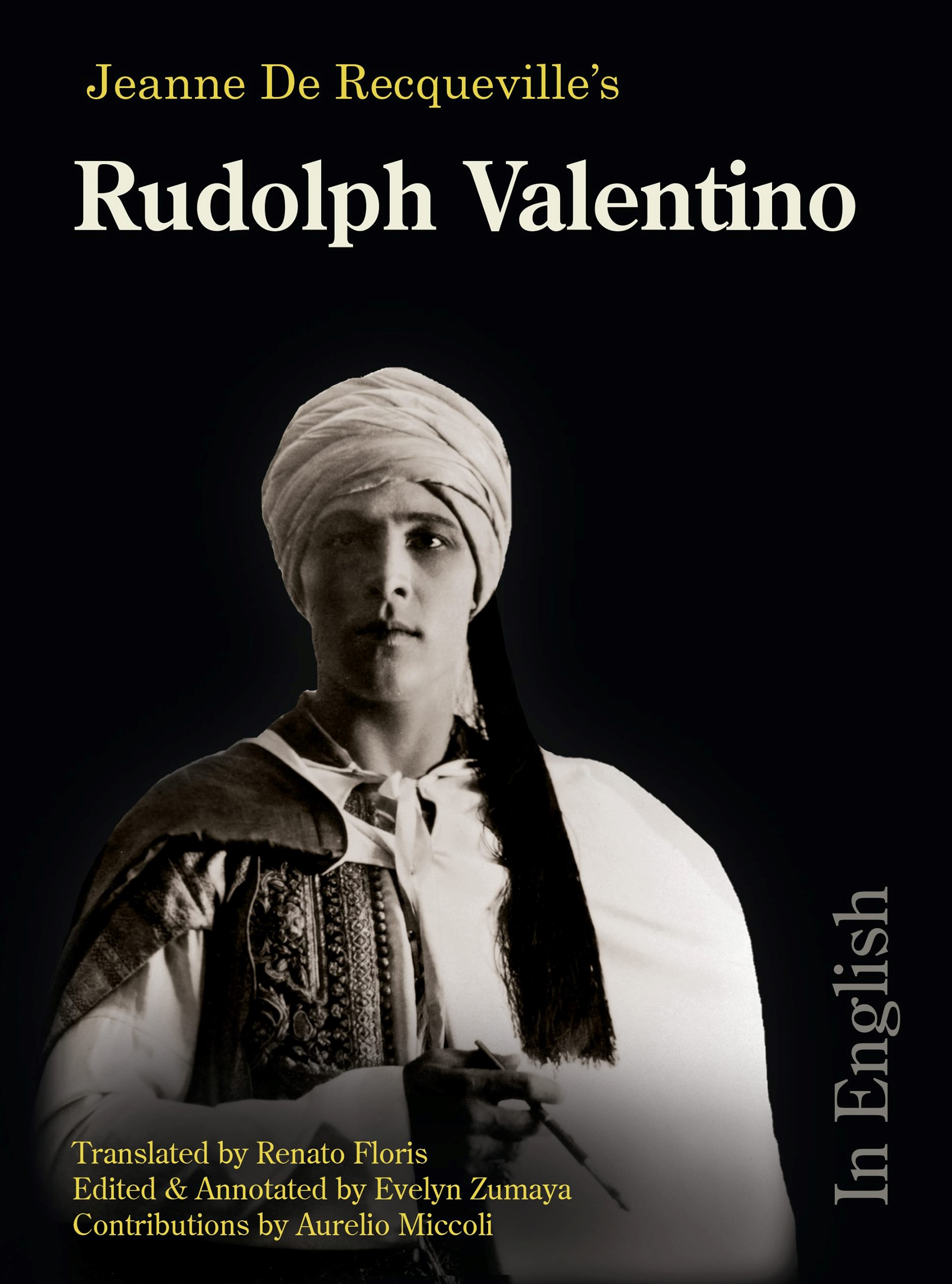 Rudolph Valentino in English