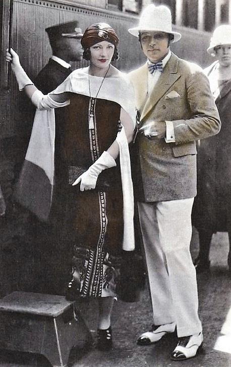 Natacha Rambova & Rudolph Valentino