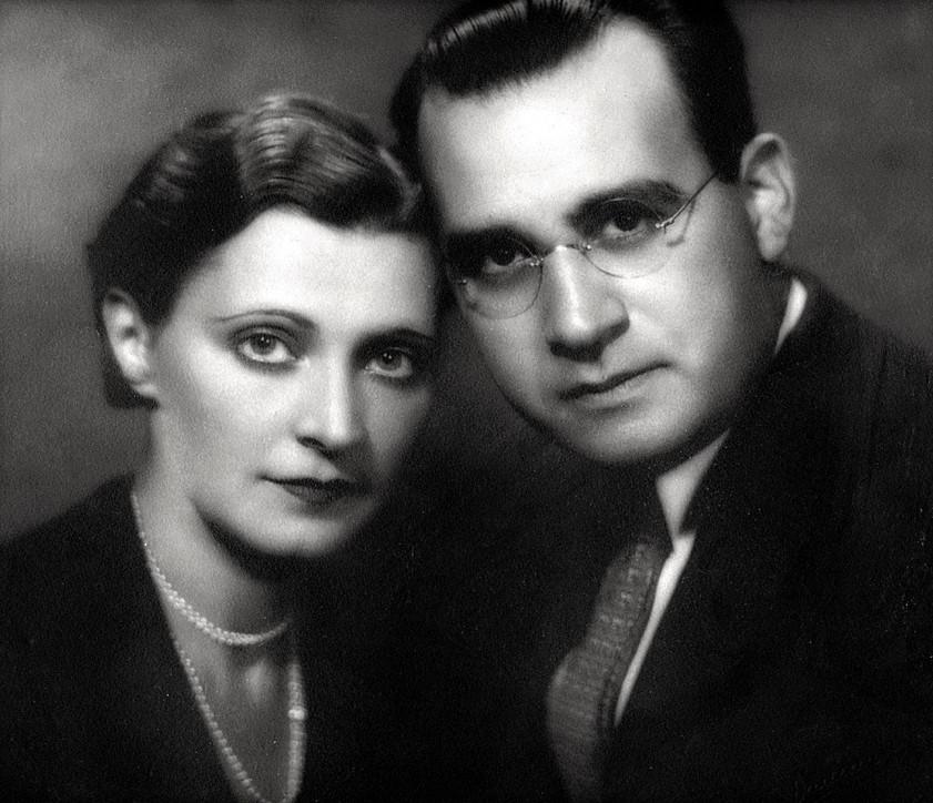 George & Bee Ullman @ 1925